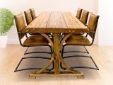 Valhall ruokapöytä, puujalka