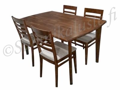 Nette ruokailupöytä